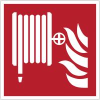 Panneaux et autocollants NF EN ISO 7010 Robinet d'incendie armé - F002