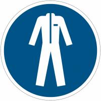 Panneaux et autocollants NF EN ISO 7010 Vêtements de protection obligatoires - M010