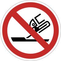 Panneaux et autocollants NF EN ISO 7010 Ne pas utiliser pour rectification plane - P032