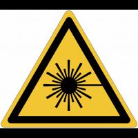 Panneaux et autocollants NF EN ISO 7010 Rayonnement laser - W004