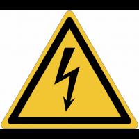 Panneaux et autocollants NF EN ISO 7010 Electricité - W012