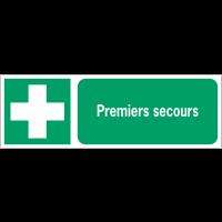 Panneaux ISO 7010 horizontaux Premiers secours - E003