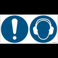Pictogrammes ISO 7010 Obligation & Casque antibruit obligatoire