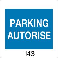Badges de parking pré-numérotés