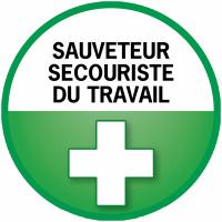 Badge Sauveteur et Secouriste du Travail