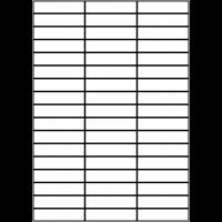 Etiquettes en papier imprimables - blanc ou couleur