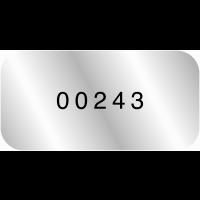 Etiquettes de propriété SetonGuard sans ou avec numérotation