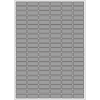 Etiquettes en polyester pour imprimante Laser standard