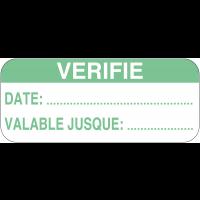 Etiquettes d'inspection pour surfaces huileuses et grasses