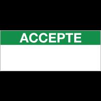 Etiquettes d'inspection en papier
