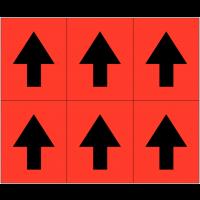 Mini-flèches adhésives
