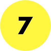 Pastilles en papier multi-usages avec numéros