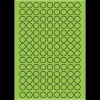 Pastilles en papier multi-usages en planches A5