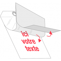 Plaquettes d'inspection cartonnées auto-laminantes vierges