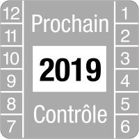 Pastilles calendrier carré tranfert à sec