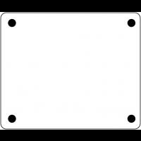 Plaquettes d'identification de câbles en PVC