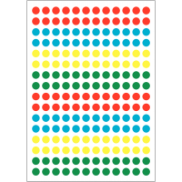 Mini-pastilles adhésives panaché en vinyle multi-usages