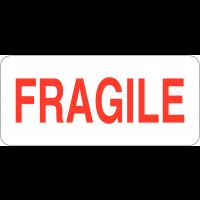 """Etiquettes en papier """"Fragile"""""""
