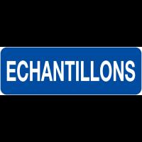 """Etiquettes en papier """"Echantillons"""""""