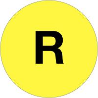 """Etiquettes de phase """"R"""""""