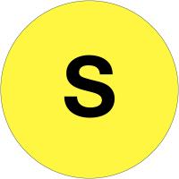 """Etiquettes de phase """"S"""""""