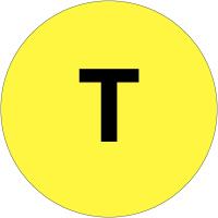 """Etiquettes de phase """"T"""""""