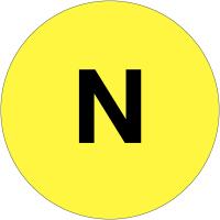 """Etiquettes de phase """"N"""""""