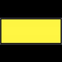 Etiquettes d'inspection vierges en polyester auto-laminantes
