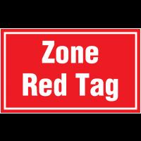 Marquage au sol - Zone Red Tag