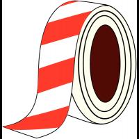 Bandes de marquage au sol adhésives en vinyle haute résistance, rayées ou unies