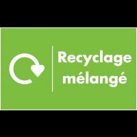 Marquage au sol recyclage - Recyclage mélangé