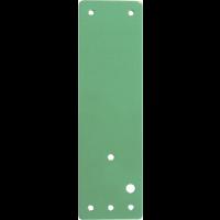 Plaques de fixation d'alarmes pour portes coupe-feu
