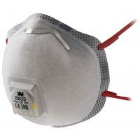 Masque de protection anti-poussière FFP3 jetable avec bords à texture gaufrée