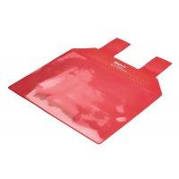Pochette à languettes magnétiques pour surfaces grillagées