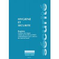 Registre hygiène et sécurité