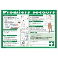 Affiche sur les gestes de premiers secours