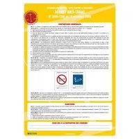 Affichage obligatoire sur le décret anti-tabac