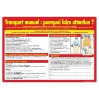 Affiche sur le transport manuel : pourquoi faire attention?