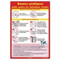 Affiche - Lutte contre les infections virales