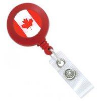 Enrouleur zip porte-badge personnalisé avec finition résine