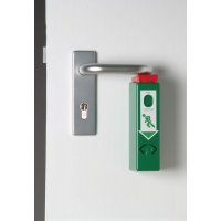 Alarme de porte compacte pour barre anti-panique