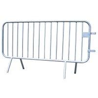 Barrières amovibles de sécurité en acier