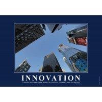 Poster de motivation plastifié - Innovation