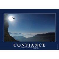 Poster de motivation plastifié - Confiance