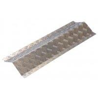 Plaque de protection en aluminium pour câbles