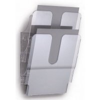 Porte-documents mural Flexiplus vertical ou horizontal A4 ou A5