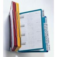 Supports muraux métalliques protège-documents avec pochettes A4