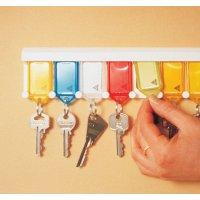 Râtelier mural 5 porte-clés