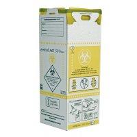 Cartons récupérateurs pour déchets infectieux
