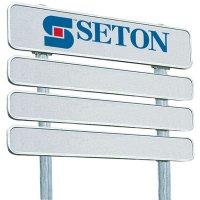 Signalisation rétroréfléchissante personnalisée 4 panneaux